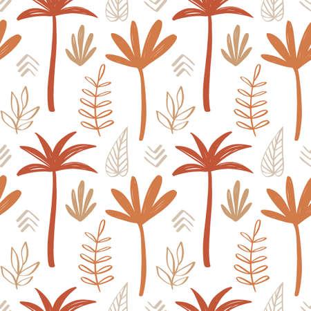 Tropical summer seamless pattern