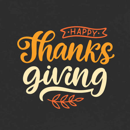 Happy Thanksgiving Day web banner template 向量圖像