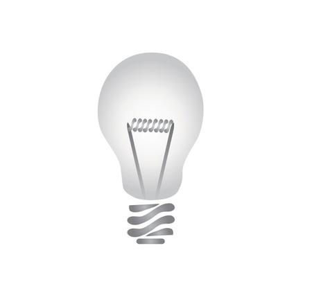 adobe: Ligh bulb drawn using Adobe illustrator and a tablet