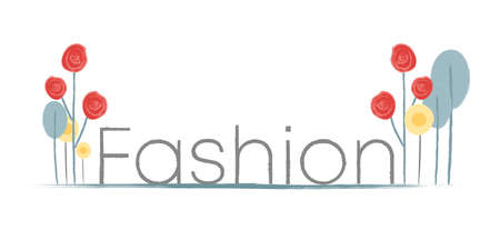 Fashion sticker, vector illustration for graphic and design
