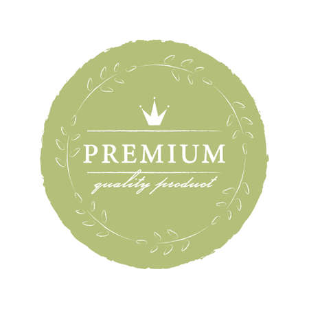 Premium Quality Product sticker, vector illustration for graphic and design Çizim