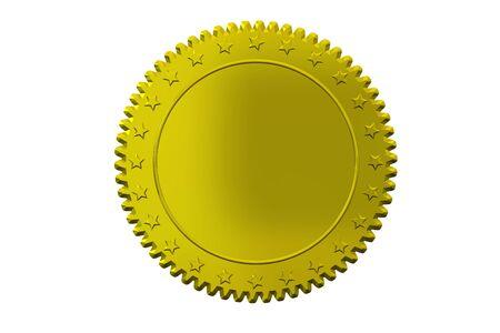 orden: Plakette Medal Stock Photo