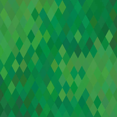 cool background: Green Geometric Background. Vector Illustration. Illustration