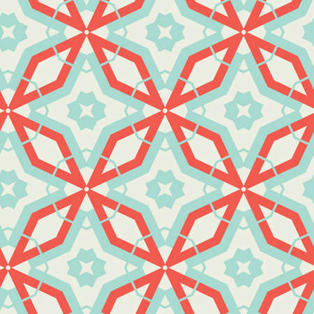 Abstract Retro Pattern. Vector illustration.