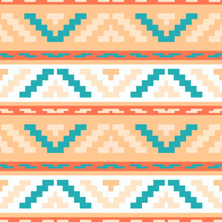 buttercream: Buttercream stripped tribal geometric pattern. Abstract ethno pattern for wallpapers, covers, web page backgrounds. Vector fabric texture.
