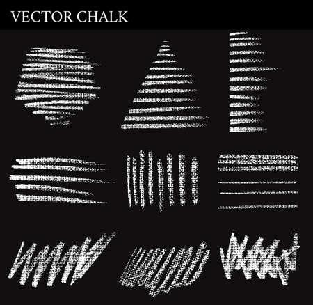 hatchwork: Vector Chalk hatchwork Lines. Hand drawn illustration.