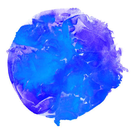 Watercolor circle background Stock Photo
