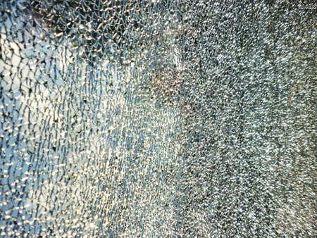 Car shuttered window texture