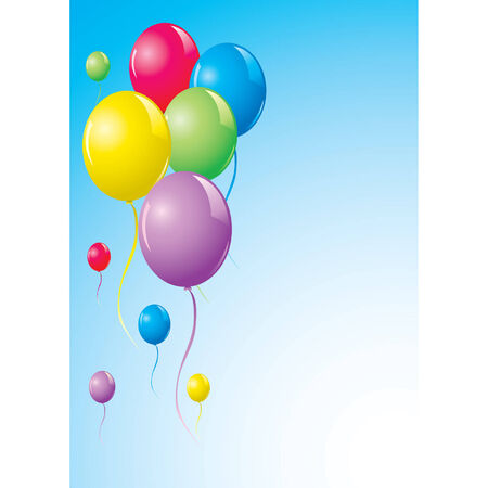 event party festive: Vector Balloons