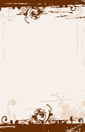 Grunge style background. File dimension measures 5.5 x 8.5