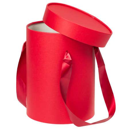 Red flower box.
