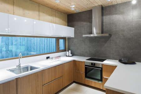 Cucina vuota moderna