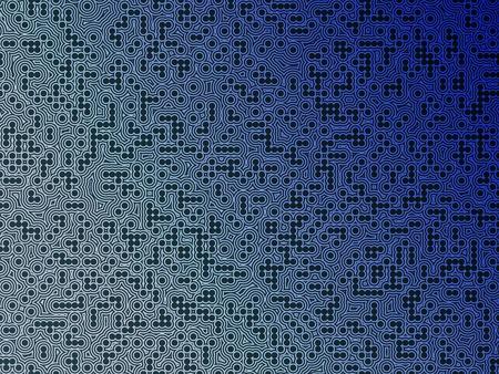 Bleu électroniques de fond du circuit Banque d'images - 10806715