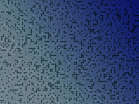 Blue electronic circuit board background