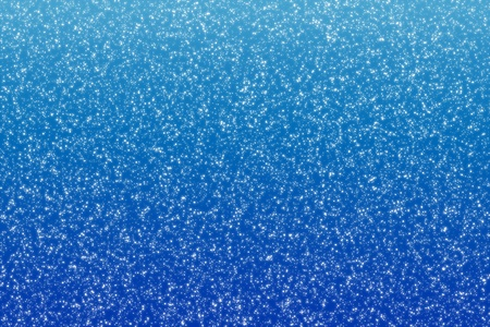 snowing: Falling snow, Snowflakes on blue winter background