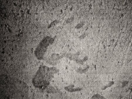 Handprint on concrete wall texture photo