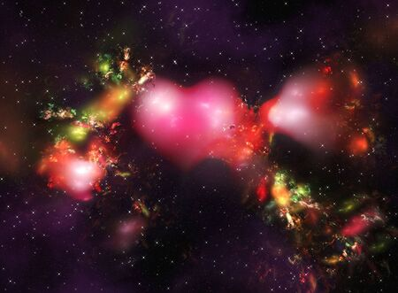 astral: Abstract space galaxy and star fogs background