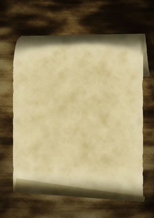 Grunge old paper scroll texture, background Stock Photo - 12056977