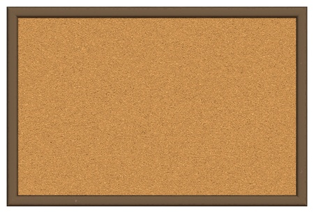 Cork board isolated over white background Stock Photo - 13305663