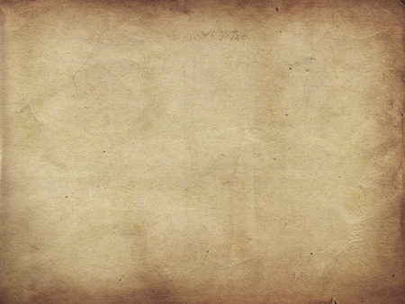Brown paper as a grunge background photo