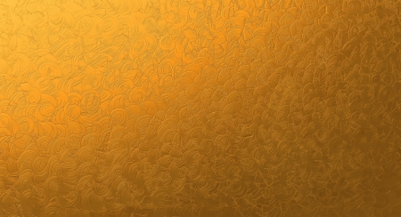 Abstract texture of golden background photo