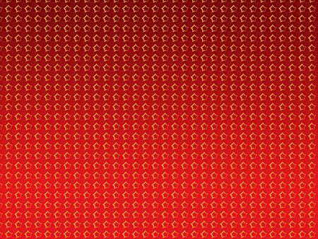 Abstract illustration of golden stars over red background Stock Illustration - 15281937