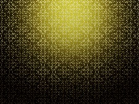 Illustration of abstract yellow background with pattern texture. Stock Illustration - 16516360