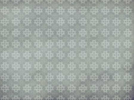 swill: Illustration of abstract vintarge floral pattern gray texture background.