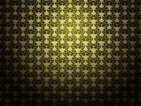 Illustration of abstract yellow background with pattern texture. Stock Illustration - 16565941