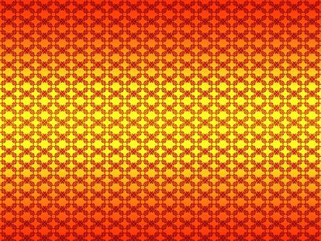 Illustration of colorful pattern background with flourish. Stock Illustration - 16712836