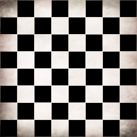 checker: Illustration of grunge checker board, abstract background.