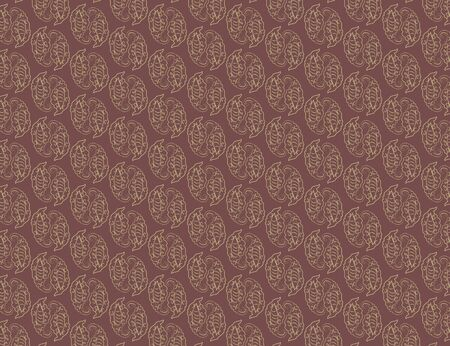 swill: Illustration of abstract vintage pattern wallpaper background. Illustration