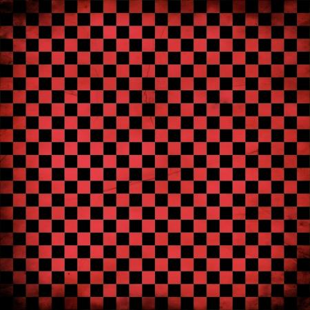 checker board: Ilustraci�n del grunge rojo corrector tablero, fondo abstracto. Foto de archivo
