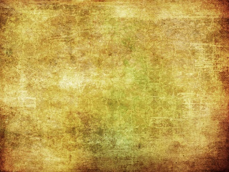 Abstract grunge old yellow dirty paper texture background. photo