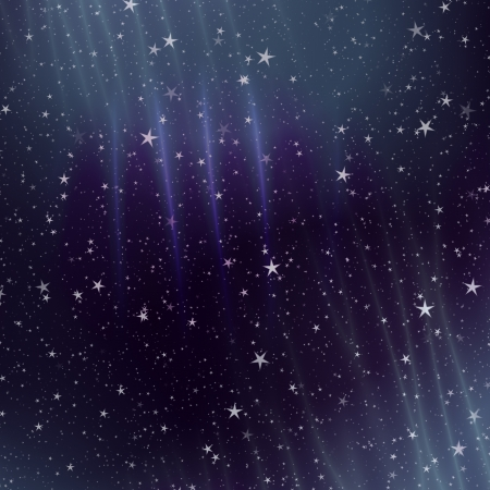 Colorful space background with star field and gas congestion. Stock Photo - 20074170