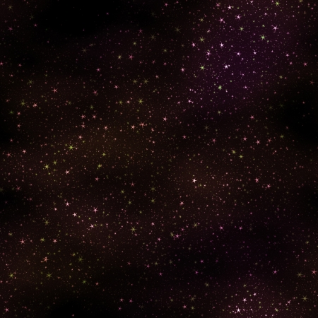 Star field in space and gas congestion background. Stock Photo - 20334443