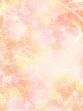 Beautiful pink background with glamour bokeh effect. Stock Photo