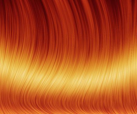 panache: Digital generated sleek red hair texture background.