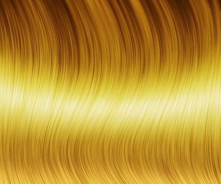 sleek: Digital generated sleek blond hair texture background.