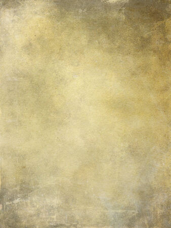 Old grunge yellow paper texture as background.