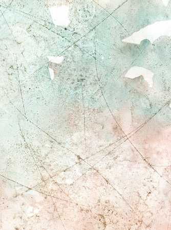 Abstract painted texture of green color as background. photo