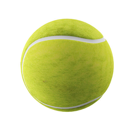 Tennis ball with world map isolated on white 3d render stock photo digitally rendered illustration of a tennis ball on white background illustration gumiabroncs Images