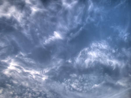 rages: Natural sky background with white clouds, hdr image.