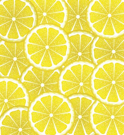 citrus fruit: Bright background with juicy lemon slices, citrus fruit slices.