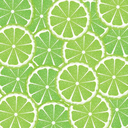 citrus fruit: Bright background with juicy lime slices, citrus fruit slices.