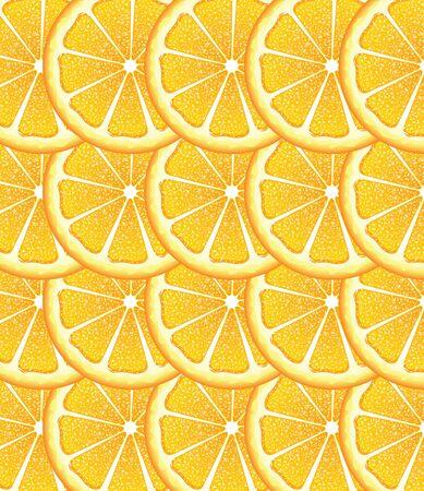 orange slices: Bright background with juicy orange slices, citrus fruit slices.