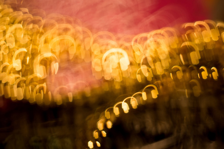 gold color: Colorful blurred background of pink and gold color, bokeh effects.