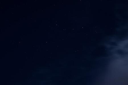 Dark Night Sky Background And Small Bright Stars Stock Photo 47563007