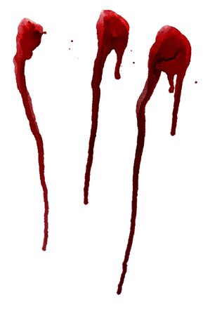 lifeblood: Grunge background with paint dripping of red color.