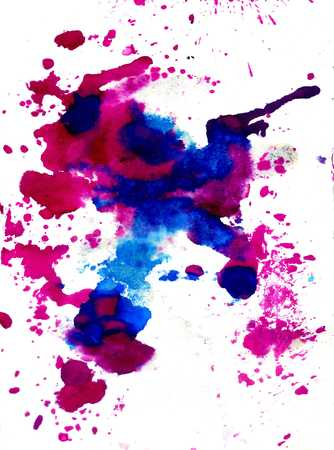 paint dripping: Grunge background with paint dripping of different colors. Stock Photo